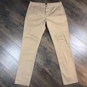 "ASOS Khaki Slacks Dress Pants (size 36"" x 34"")"